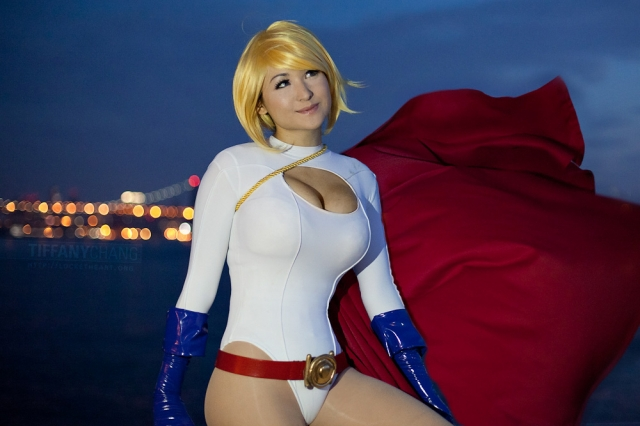 mostflogged as Power Girl - 0367
