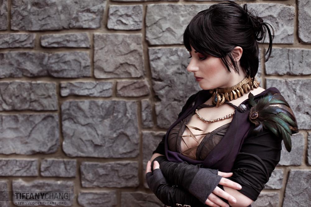 Erika Door as Morrigan from Dragon Age II 2760  sc 1 st  Locket Heart Photography & 2014.08.08 \u2013 Dragon Age II : Morrigan « Locket Heart Photography